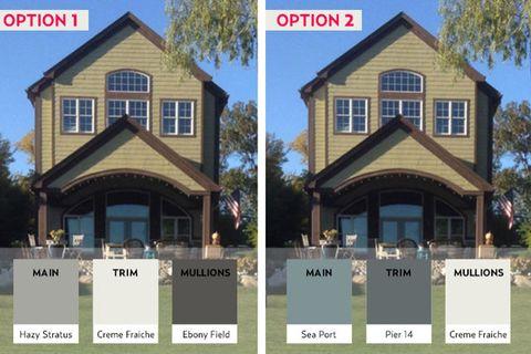 Lake home exterior paint colors valspar color connect app - App to change color of house ...
