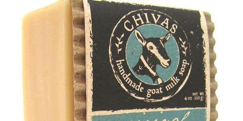 bar of goat milk soap