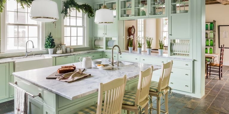 10 Ways to Add Farmhouse Charm to a New Kitchen Vintage Kitchen