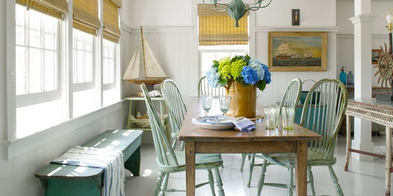 vintage country & Coastal Decorating Ideas - Beach Cottage Design