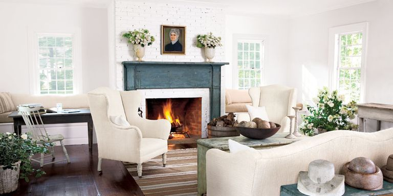 Decoration furniture living room Fashionable Country Living Magazine 30 White Living Room Decor Ideas For White Living Room Decorating
