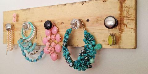 ana white diy jewelry organizer