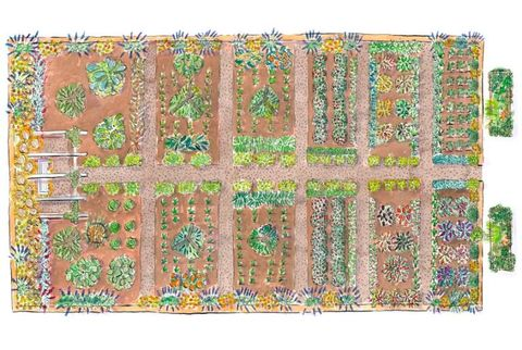 Free Kitchen Garden Plans