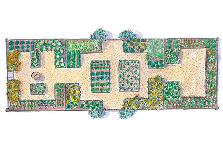 Delightful Free Garden Plans