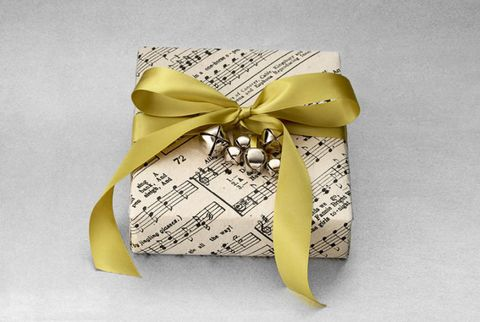 gift wrapping idea sheet music