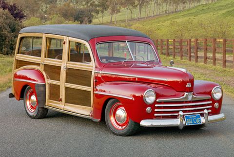 1948 Ford Super Deluxe Woodie