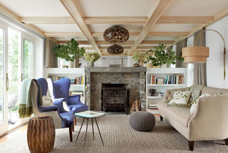17 Inspiring Living Room Makeovers - Living Room Decorating Ideas