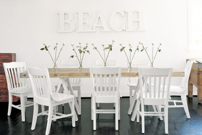White Dining Rooms