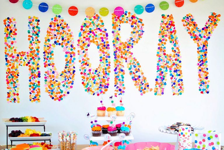 image  sc 1 st  Country Living Magazine & 15 DIY Birthday Party Decoration Ideas - Cute Homemade Birthday ...