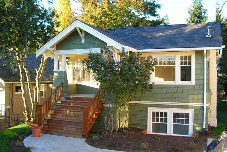 Porch Home Exterior Makeover Before And After Home