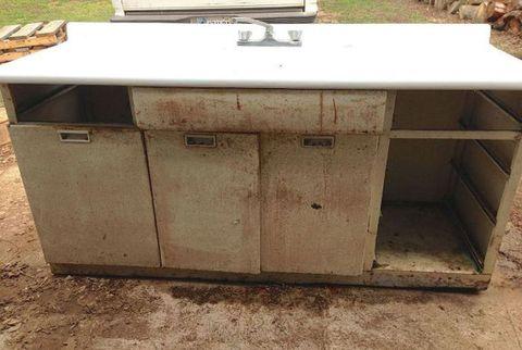 Wood, Beige, Composite material, Rectangle, Gas, Concrete, Machine, Desk, Drawer, Granite,