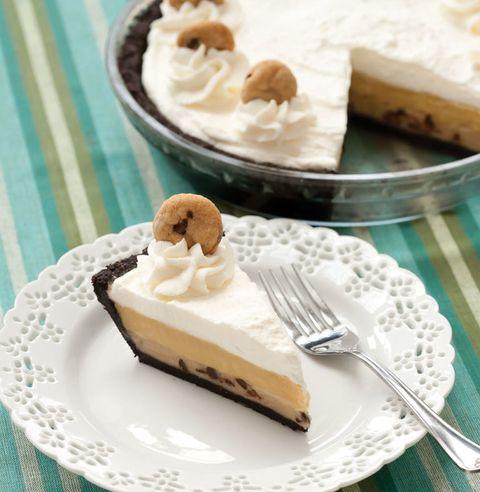 cookie dough cream pie