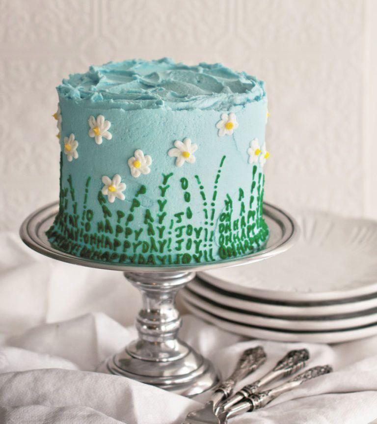 daisy cake tutorial