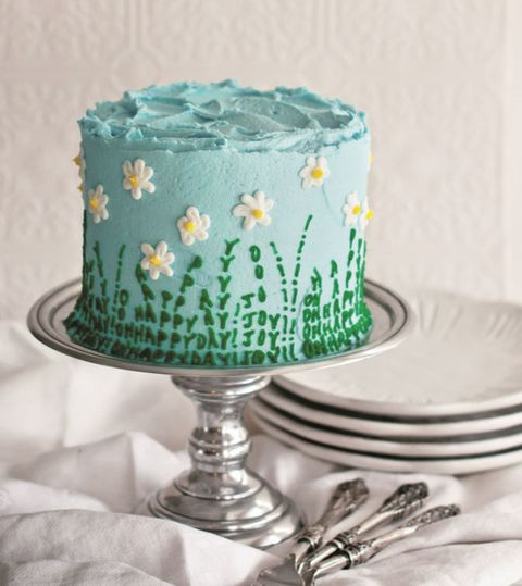 daisy cake tutorial