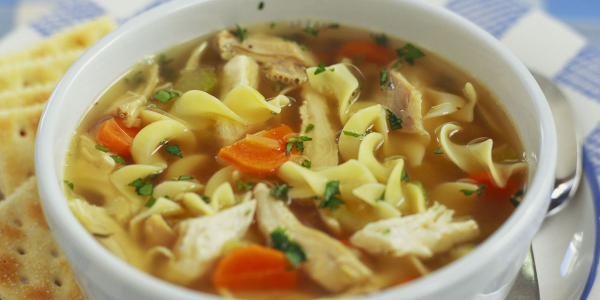 Homemade chicken noodle soup recipe how to make chicken noodle soup forumfinder