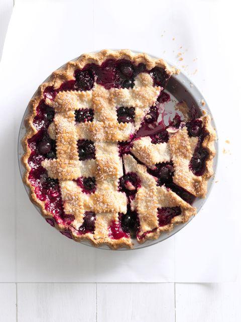 cherry berry jumble fruit pie