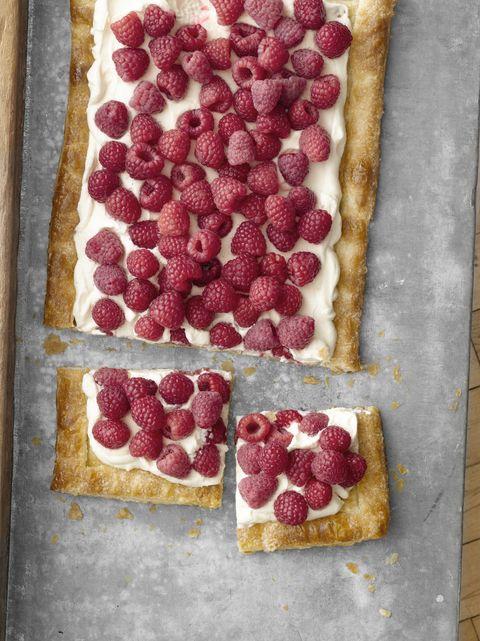 quick and easy raspberry tart