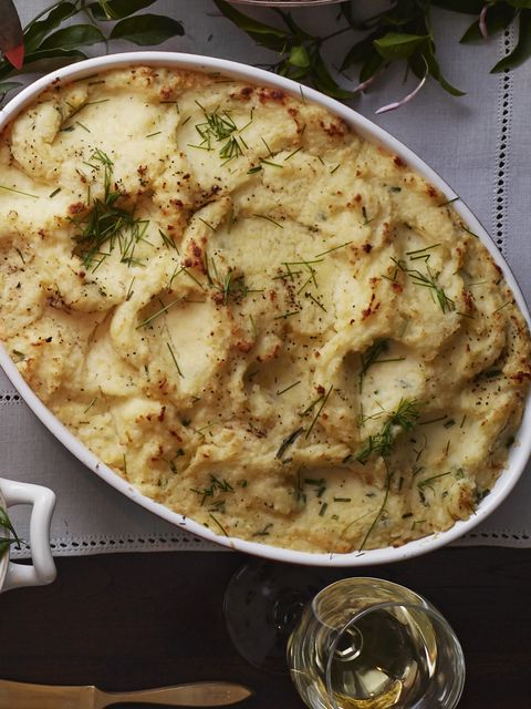 buttermilk boursin mashed potatoes