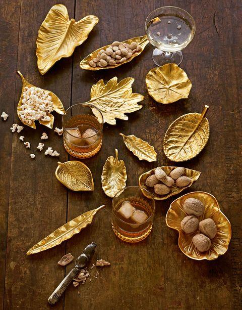 gold plates