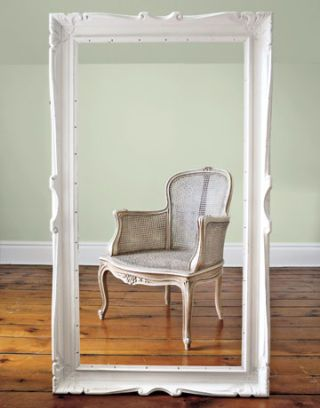 Invite a single chair to serve as a distinctive and functional focal point.