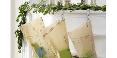 pattern paper christmas stockings - Unique Christmas Stockings