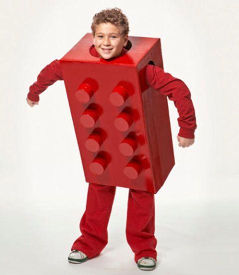 Lego Costume , Boy Halloween Costume