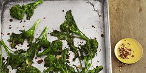 spicy balsamic broccoli rabe