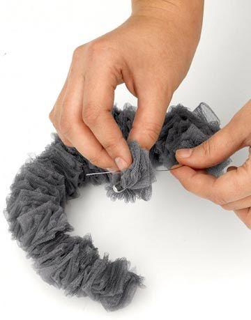 hand threading fabric