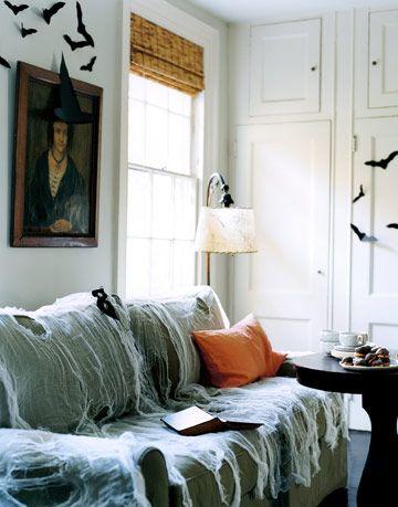 haunted living room