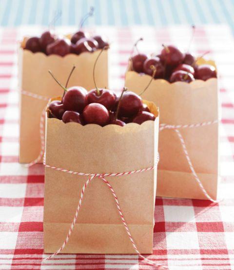 bags of cherries