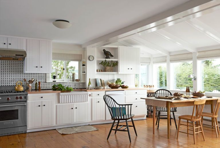 garden and kitchen white living kasler home southern decorating makeovers after before