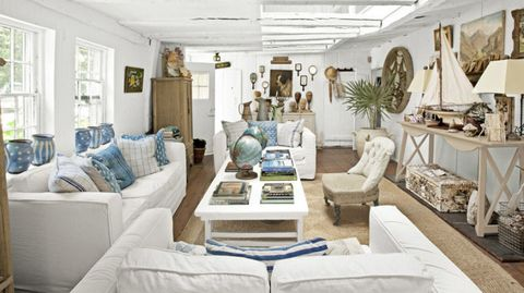 white denim sofas