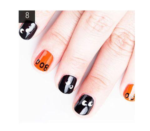 Finger, Text, Orange, Nail, Red, Nail care, Nail polish, Style, Amber, Colorfulness,