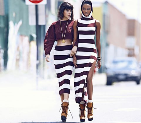 Sleeve, Shoulder, Fashion show, Style, Street fashion, Fashion model, Jewellery, Dress, Fashion, Waist,
