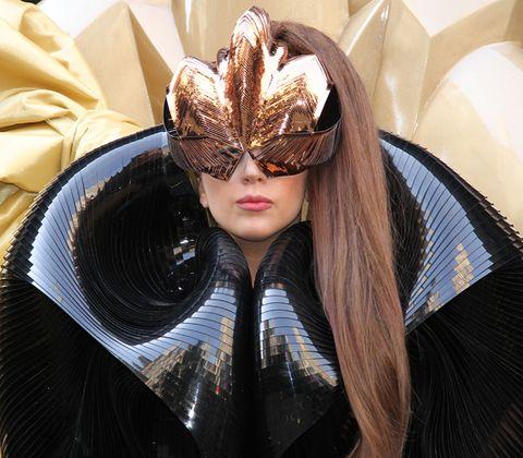 Mask, Headgear, Costume accessory, Masque, Hair accessory, Costume, Headpiece, Costume design, Cosplay, Makeover,