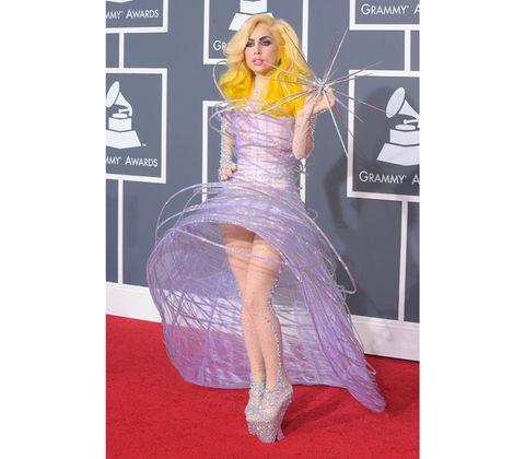 Human, Purple, Pink, Dress, Magenta, Violet, One-piece garment, Gown, Lavender, Blond,