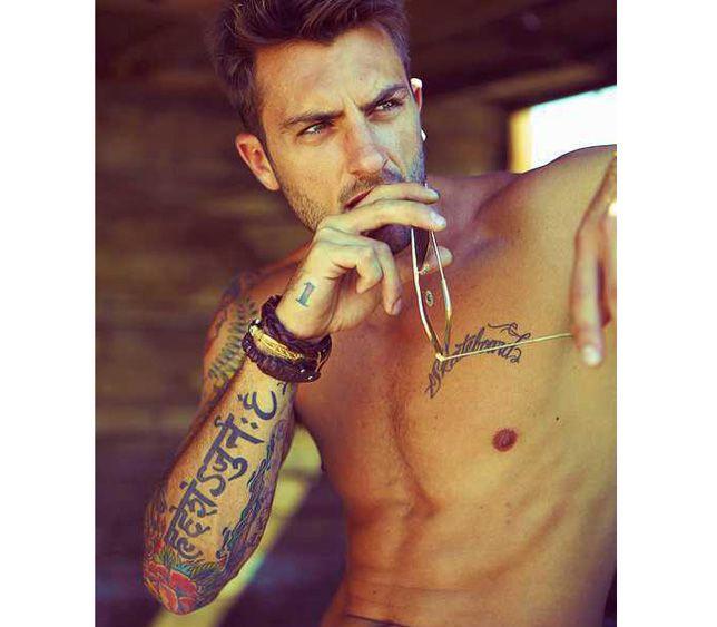 Uitzonderlijk Goddelijk kijkvoer: mannen met tattoo's &OW96