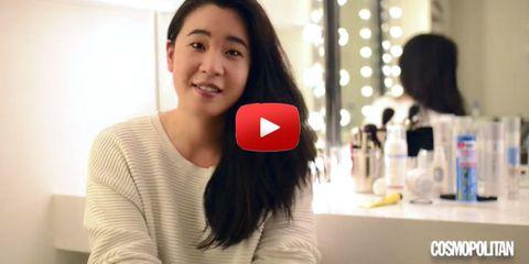 Aziatische huid beautyvideo