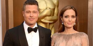 Angelina Jolie en Bradd Pitt Oscars 2014