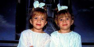 Olsen Twins Mary-Kate en Ashley Olsen toen en nu
