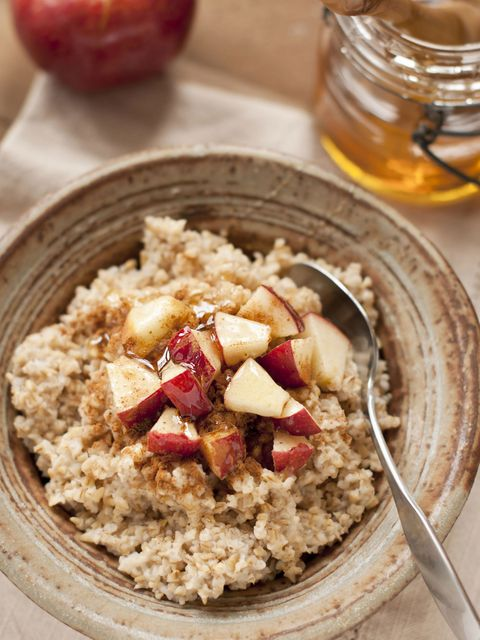 """<p>Along with improving cholesterol levels and overall cardiovascular health, the type of carbohydrate in oats is also responsible for boosting metabolism. """"A resistant starch actually 'resists' being broken down in the small intestine, and <a href=""""http://www.alphagalileo.org/ViewItem.aspx?ItemId=136716&CultureCode=en"""">studies</a> show that it helps you feel fuller for longer,"""" says Largeman-Roth. Because of its vital role in weight loss and weight maintenance, there are even <a href=""""http://www.newswise.com/articles/new-technologies-will-bring-health-benefits-of-oats-and-barley-to-a-greater-number-of-foods"""">new technologies</a> being explored to incorporate oats and barley into a wider variety of products.</p>"""