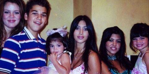 Kardashians throwback
