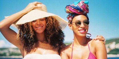 Zus Beyonce en Solange