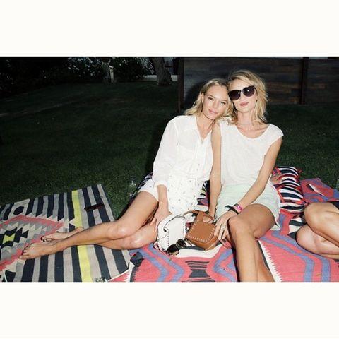 Rosie HW + Kate Bosworth
