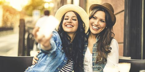 vriendinnen selfie