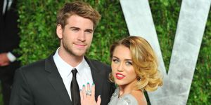 Miley Cyrus en Liam Hemsworth Vanity Fair 2012