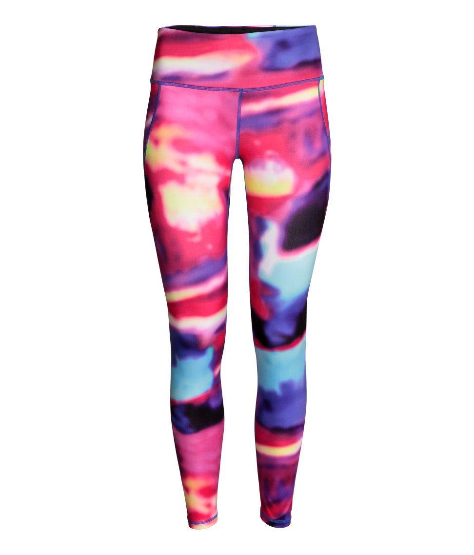 Gekleurde Sportlegging.Workout In Style Dit Zijn De Mooiste Sport Items