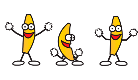 Yellow, Organism, Happy, Line, Facial expression, Cartoon, Clip art, Animation, Pleased, Illustration,