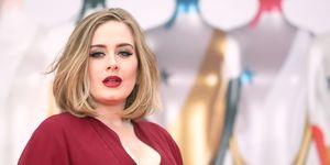 Adele Brit Awards 2016