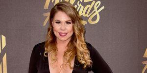 Teen mom 2 Kailyn Lowry bij de MTV Movie Awards 2016